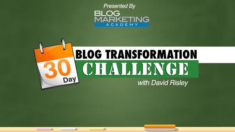 30 Day Blog Transformation Challenge