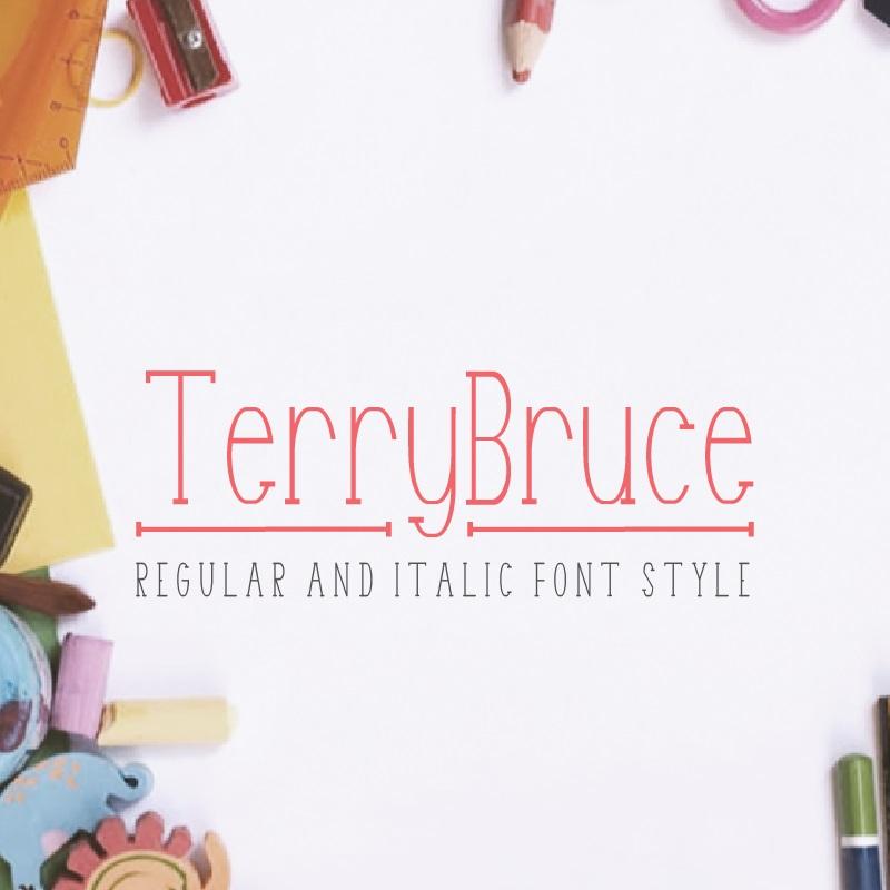 TerryBruce Font