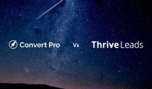 Convert Pro vs Thrive Leads