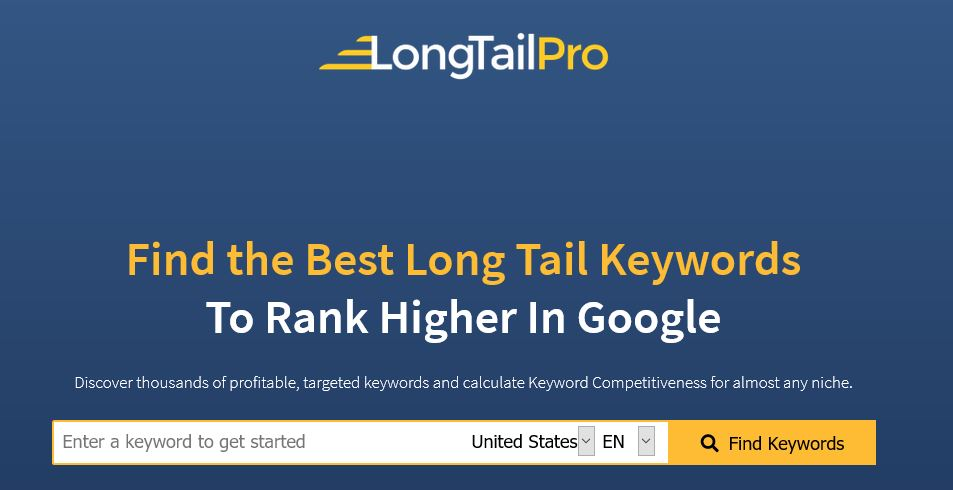 LongTailPro Coupon & Promo Codes