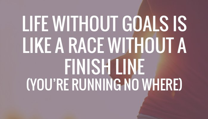 Set Your Goals?