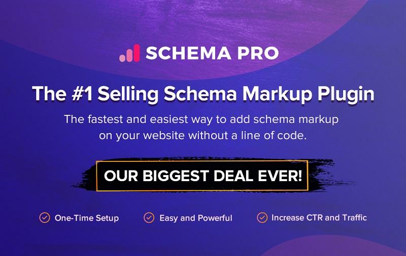 Schema Pro Black Friday Sale 2021 - Get 30% Discount on All Plans