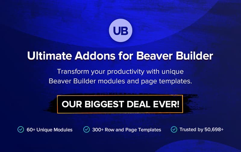 Ultimate Addons for Beaver Builder Black Friday: 30% Discount on All Plans
