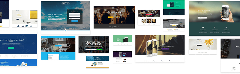 Pre-Made Landing Page Templates